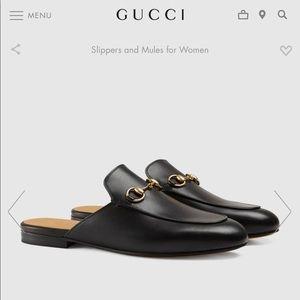 Gucci 39 Princetown Mule